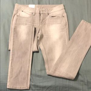 Puma faded gray jeans